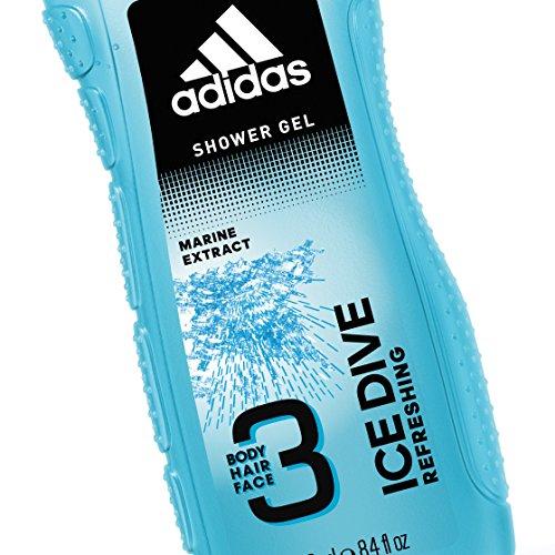 Adidas 250ml Ice Dive Rostro 3in1 Gel Dive de Ducha Corporal, Cabello y Rostro para Él 250ml 86475e9 - omkostningertil.website