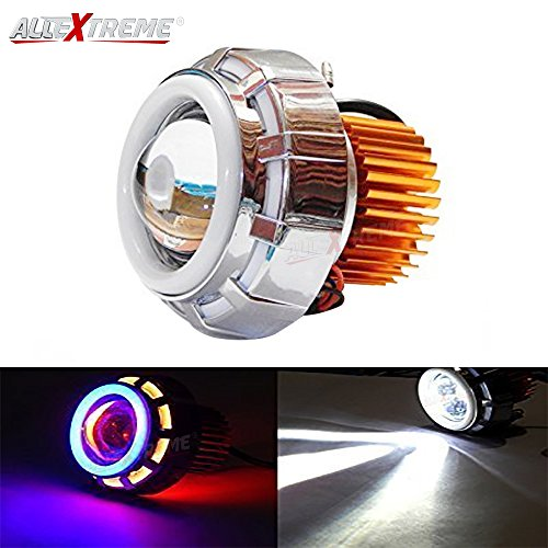 Projector Cob Dual High Allextreme For Led BlueLens Eyeredamp; Headlight Inside Lamp Intensity Stylish Double Angel's Ring All sxthrQdCB