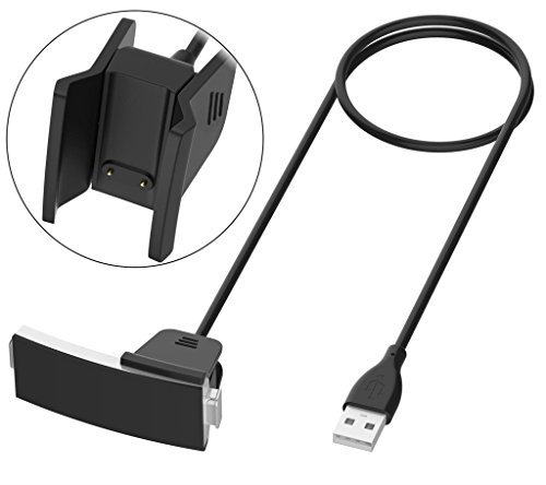 Replacement Compatible Fitbit Alta HR Charger, USB Charging Cable Cord  Charger Cradle Dock Adapter for Fitbit Alta HR, Fitness Tracker Wristband  Smart
